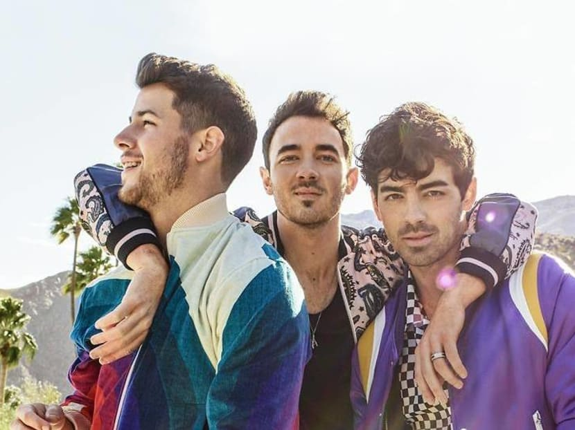 Jonas Brothers score their first No 1 with comeback single Sucker