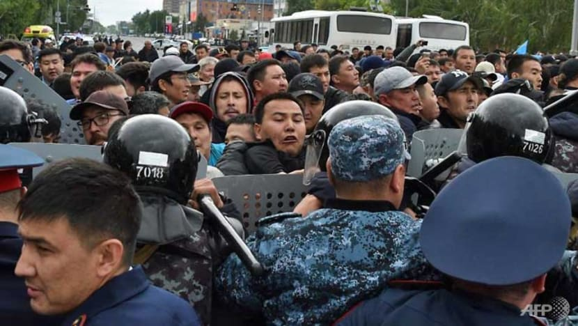 Kazakhstan elects new leader, as hundreds arrested in protests