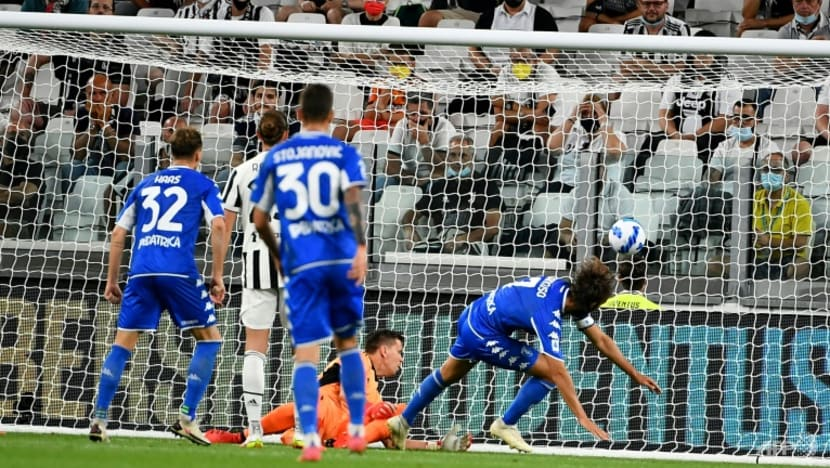 Football: Juve start life without Ronaldo with shock loss to Empoli