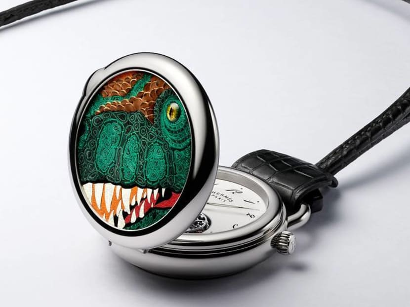 Can't get enough of Changi Jurassic Mile? Here's a watch with a T-Rex motif