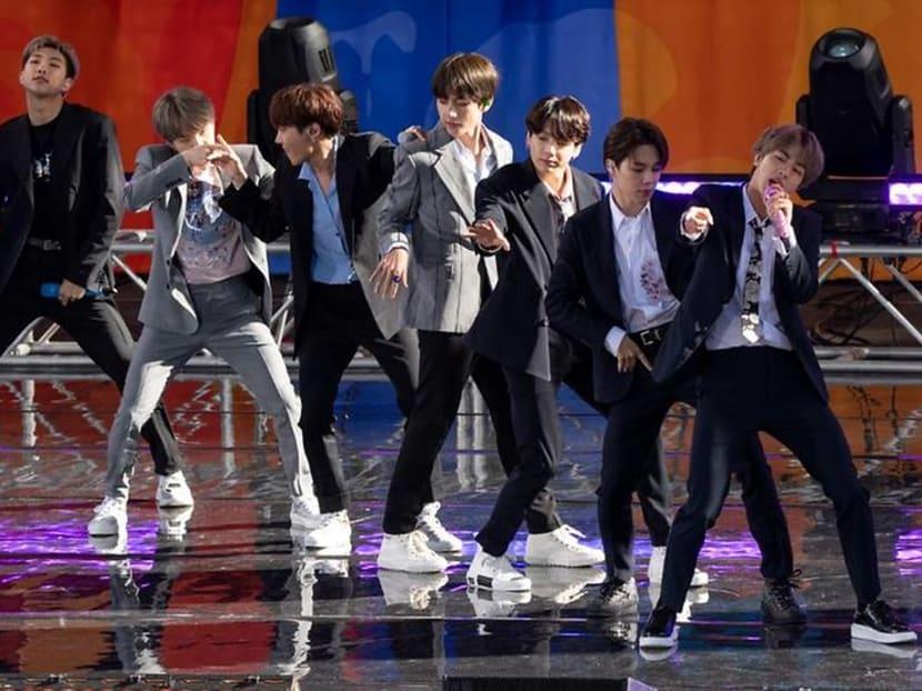 Fans tease K-pop superstars BTS for a message tweeted using an iPhone