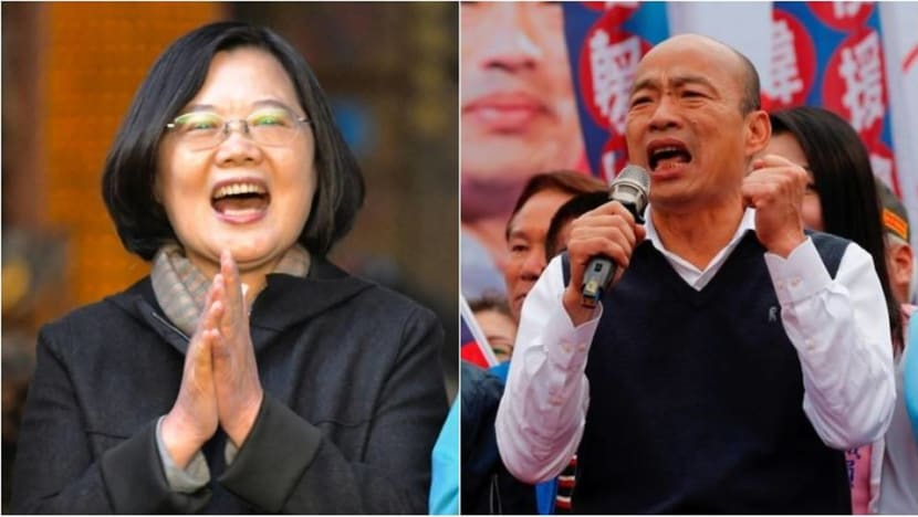Taiwan rivals in final election push as China's shadow looms