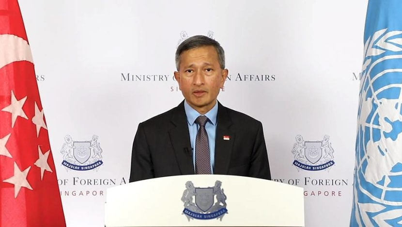 COVID-19 accelerated threats to multilateral system, global cooperation key to defeat pandemic: Vivian Balakrishnan
