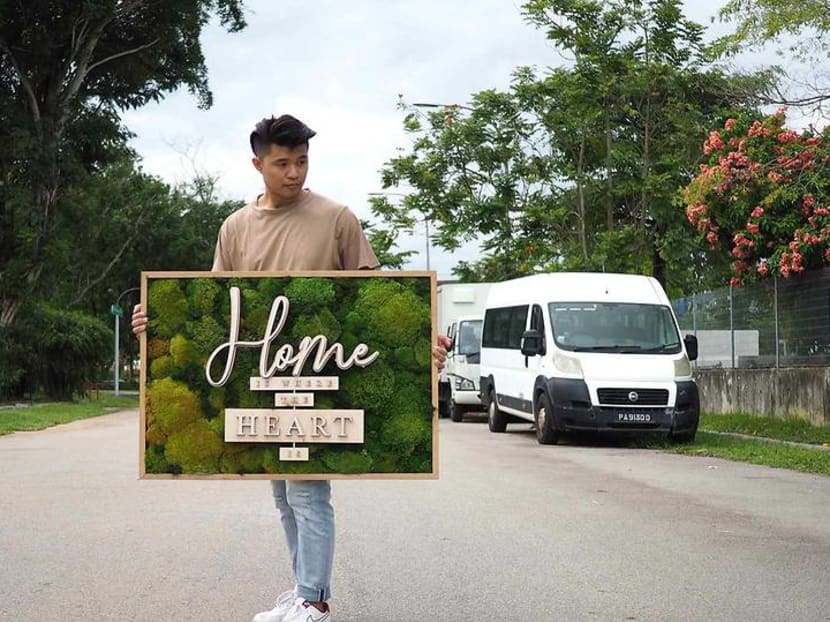 Creative Capital: The botanical architect in Singapore who makes preserved moss art
