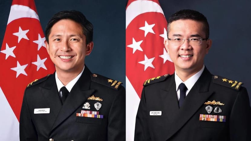 Aaron Beng named new Chief of Navy as part of leadership renewal