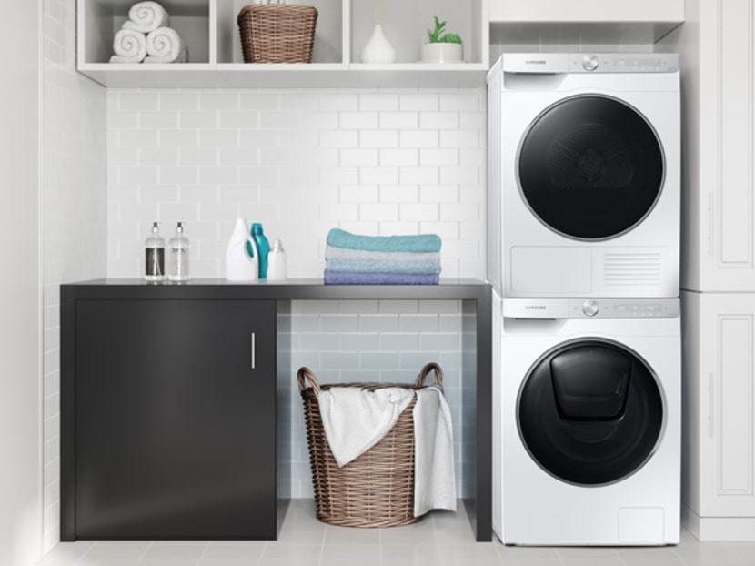 Laundry that takes care of itself: Samsung's QuickDrive washer takes the monotony out of your chore