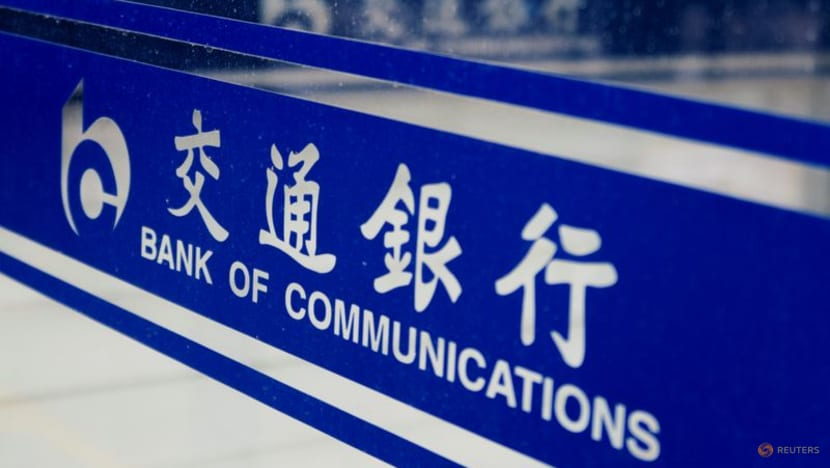 China's Bank of Communications posts 15per cent rise in H1 profit