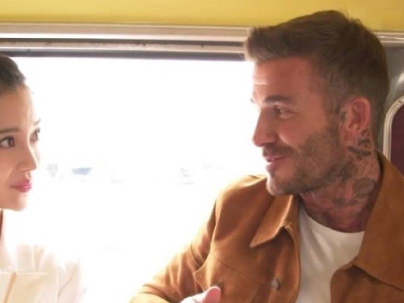 Destination wedding: David Beckham, Angelababy get 'married' in London