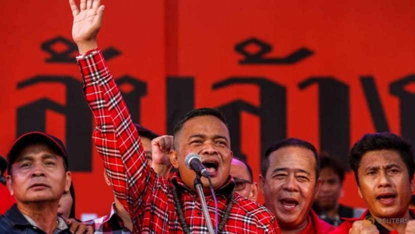 Thai 'red shirt' leader ordered back to jail, cuts short comeback