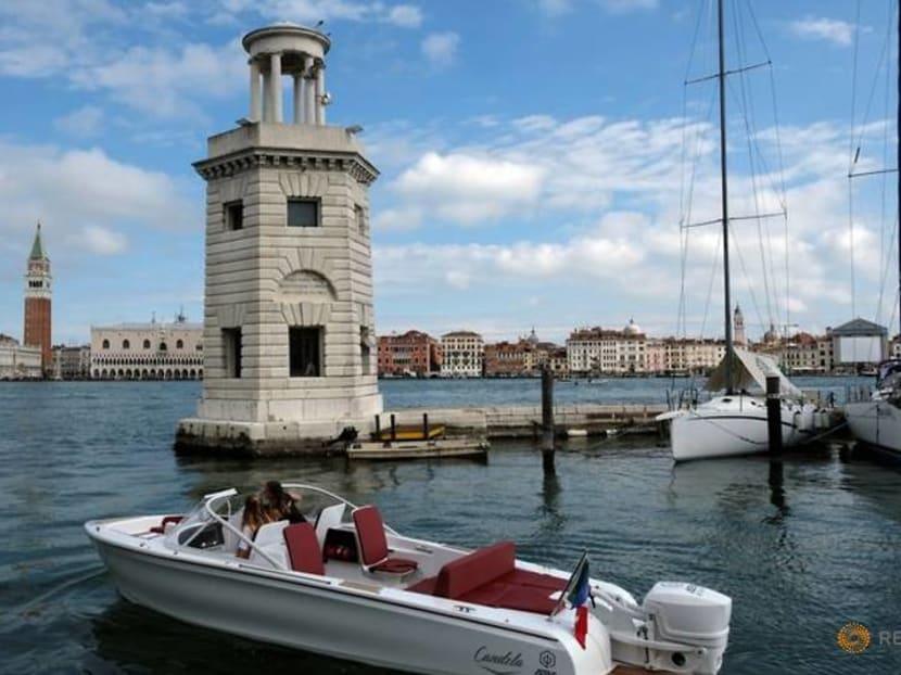Swedish 'flying' boat aims to help save Venice from the waves