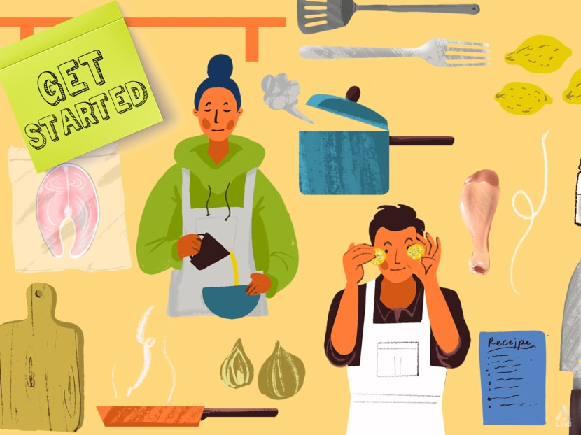 Get Started: A beginner's guide to becoming an amateur home cook