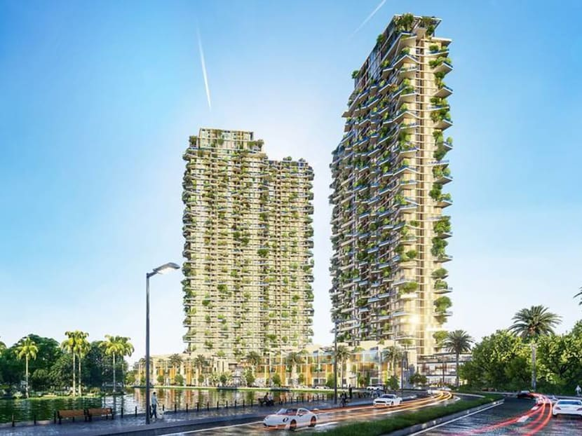 This 'vertical forest' will be Southeast Asia's tallest green residential building