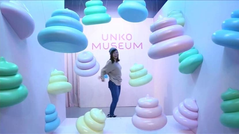 Japanese museum exhibition tries to clean up poop's image
