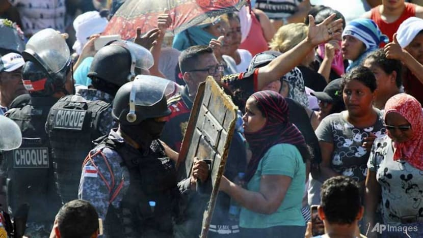 Clashes in four Brazil prisons leave 42 dead