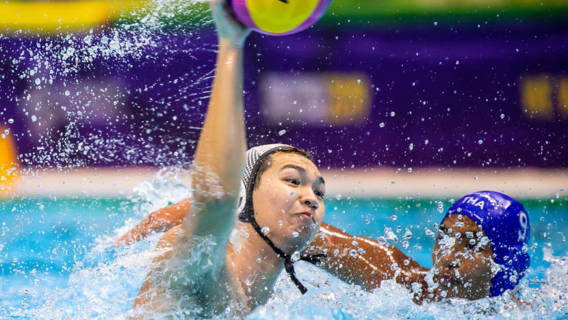 Water polo: Singapore men's team claim bronze after Thailand victory