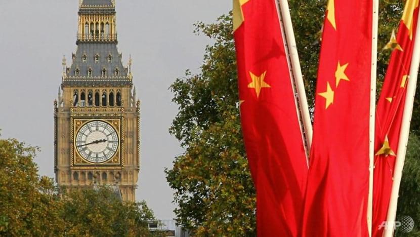 China says Britain going down 'wrong path' over Hong Kong