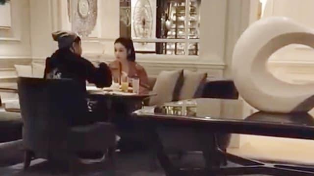 转移财产准备离婚?潘玮柏同框空姐老婆浪漫晚餐