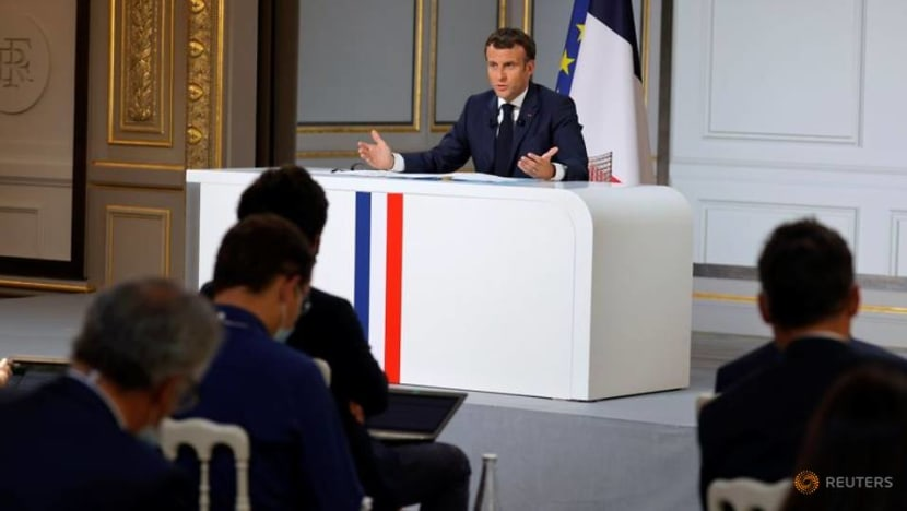 France and its partners work on financing mechanism for Lebanon: Macron