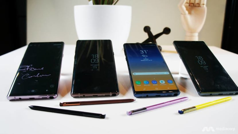First look at the Samsung Galaxy Note 9 – and its Bluetooth stylus