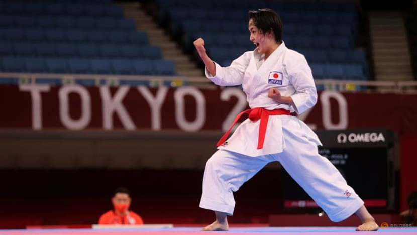 Olympics-Karate-Spain's 'queen of kata' takes maiden gold in Games debut