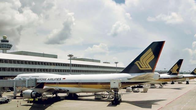 航空旅游需求持续疲弱 新航上个月整体载客量年比大跌97.3%