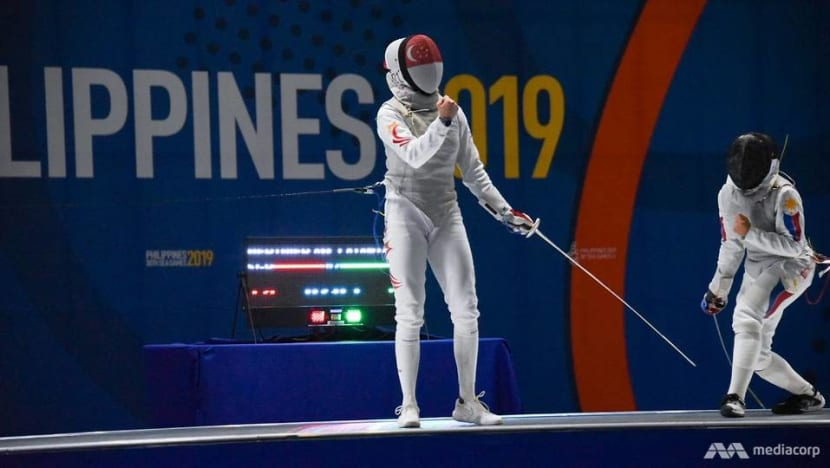Singaporean fencer Amita Berthier earns Olympic spot after winning qualification tournament