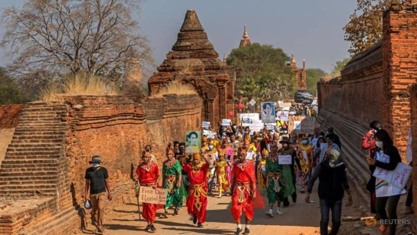 Setting aside divisions, Myanmar's ethnic groups unite against coup