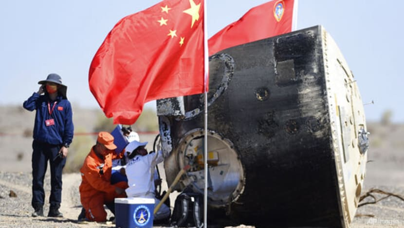 Chinese astronauts return after 90-day mission to space station