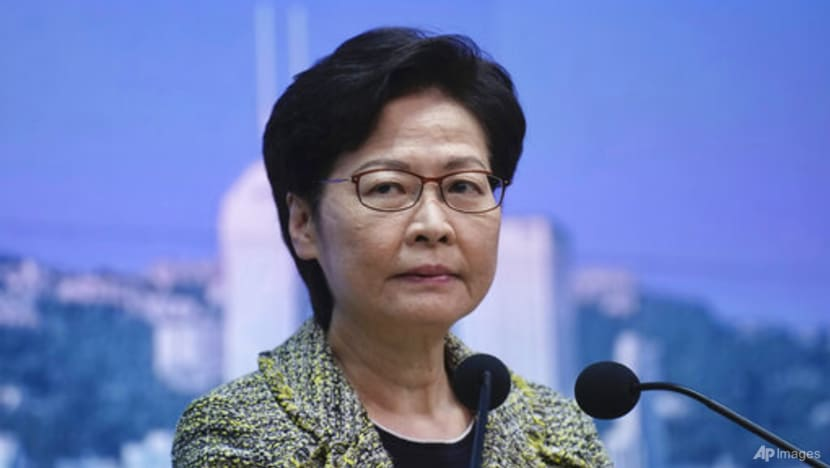 Hong Kong's Lam tells solicitors' group to stay out of politics