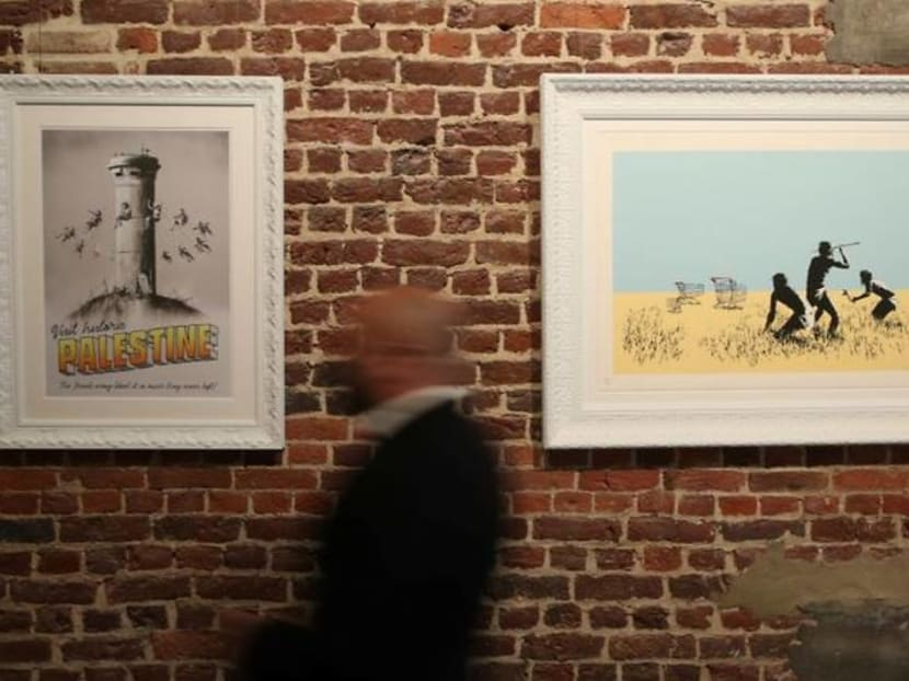 Exhibition spanning 15 years of Banksy opens in Brussels