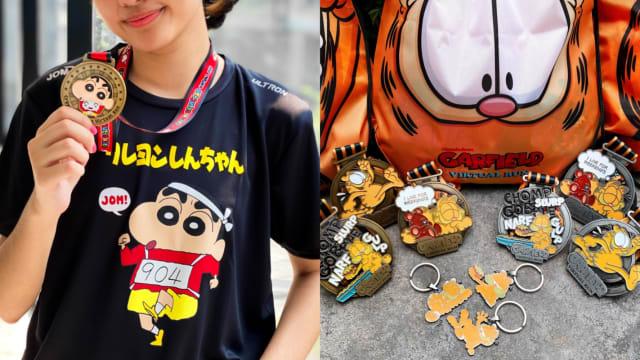 全球都哈虚拟跑!蜡笔小新、Garfield和Spongebob Squarepants来当你的神队友