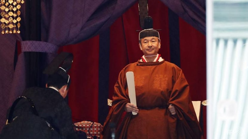 Japan Emperor Naruhito formally proclaims enthronement