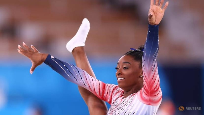 Olympics-Biles back with brave bronze as records fall, IOC probes Belarus