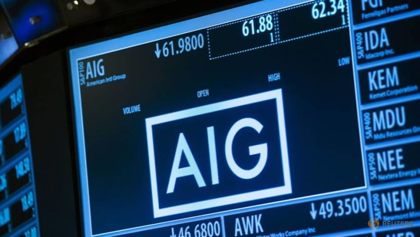 US says AIG settles tax shelter lawsuit, forgoes over US$400 million tax credits