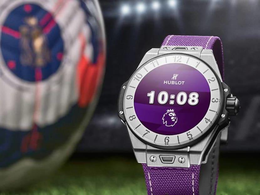 Football fans: Hublot has released a limited edition Premier League timepiece