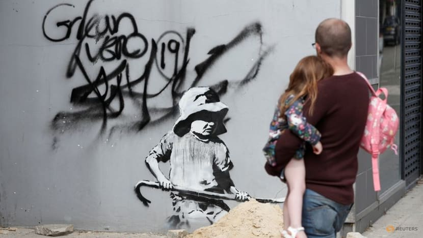 A Great British Spraycation: Banksy's new seaside murals