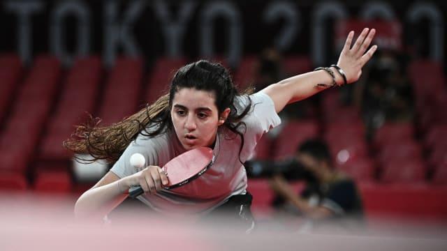 奥运最年轻运动员 12岁乒乓选手扎扎受邀到中国训练
