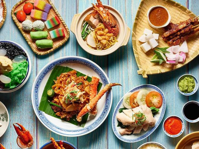 Free-flow char kway teow, sambal stingray and durian at National Day buffets