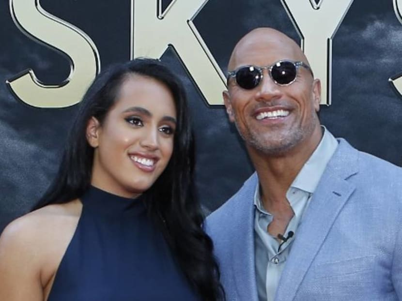 Dwayne 'The Rock' Johnson's daughter is going into the family business