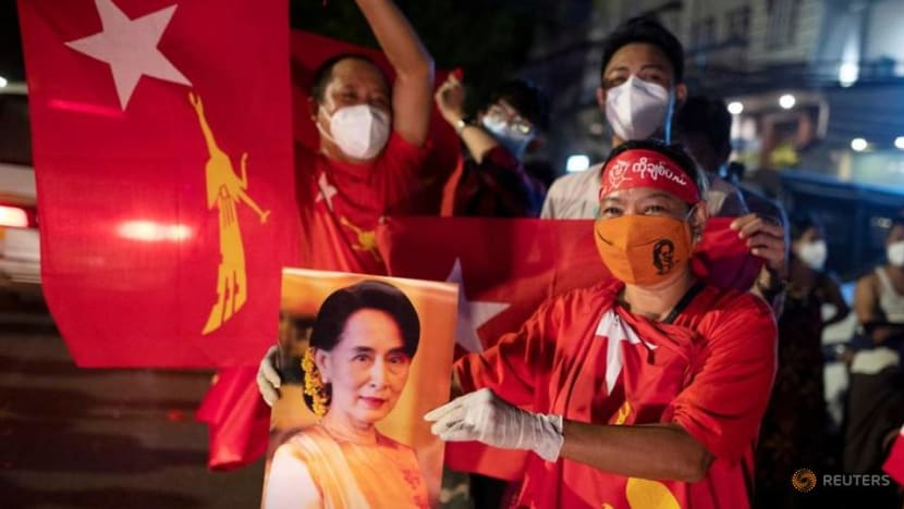 Myanmar junta cancels results of 2020 polls won by Aung San Suu Kyi's party