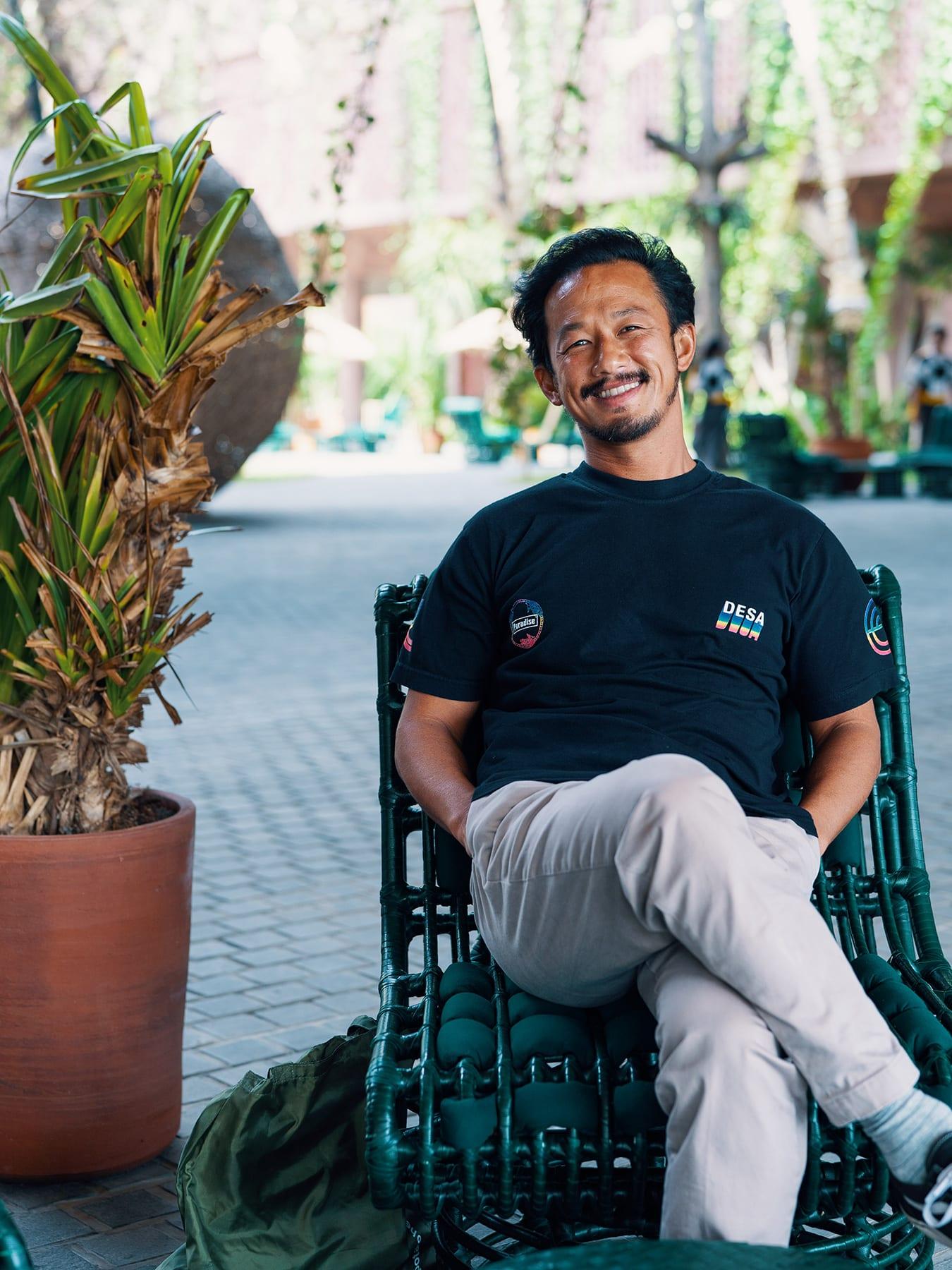 Gặp gỡ doanh nhân Indonesia: Người đứng sau khu nghỉ dưỡng Potato Head của Bali