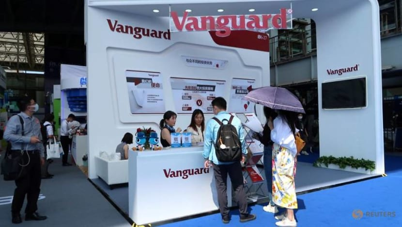 Vanguard sold stakes in Chinese firms sanctioned by US