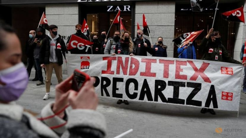 Spanish unions cry foul as Inditex shuts stores