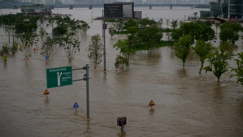 Heavy rains in South Korea displace more than 1,000 people, 14 dead