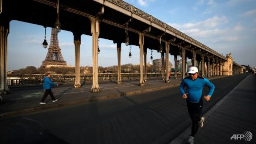 Paris bans daytime jogging to fight spread of COVID-19