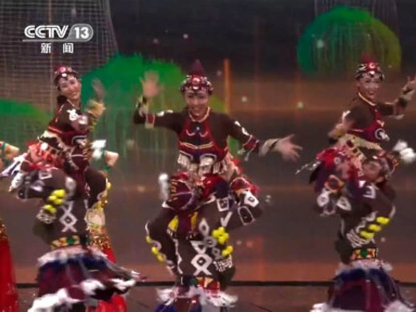 Chinese TV features blackface performers in New Year's gala