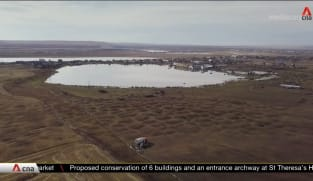 Thawing permafrost threatens infrastructure in Russia's Yakutia | Video