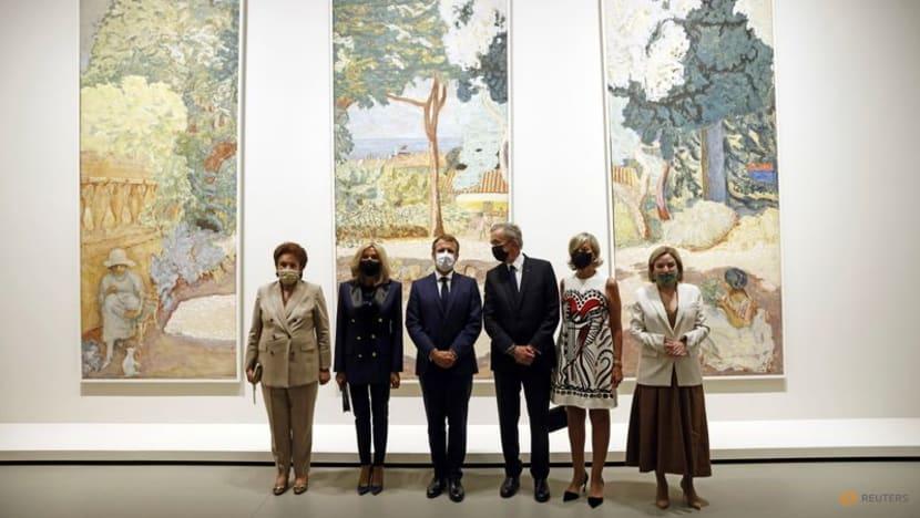 Macron inaugurates Morozov art collection exhibit in Paris