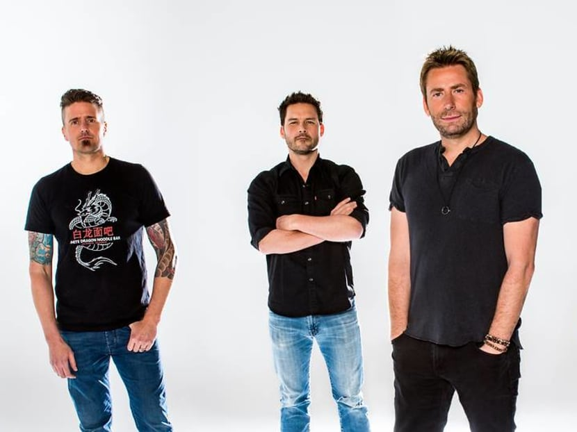 Canadian rock band Nickelback to perform first concert in Singapore