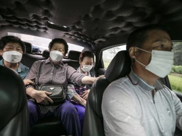 'It's a godsend': 100-won taxi rides in rural South Korea